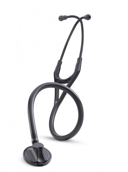 Stetoscop 3M Littmann Master Cardiology Negru capsula neagra 2161 + 2 Cd-uri educationale